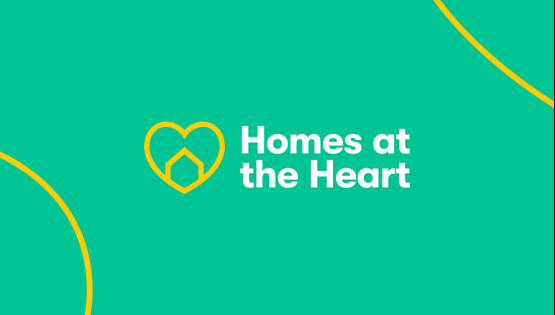 Homes at the Heart campaign supporter graphic for Twitter